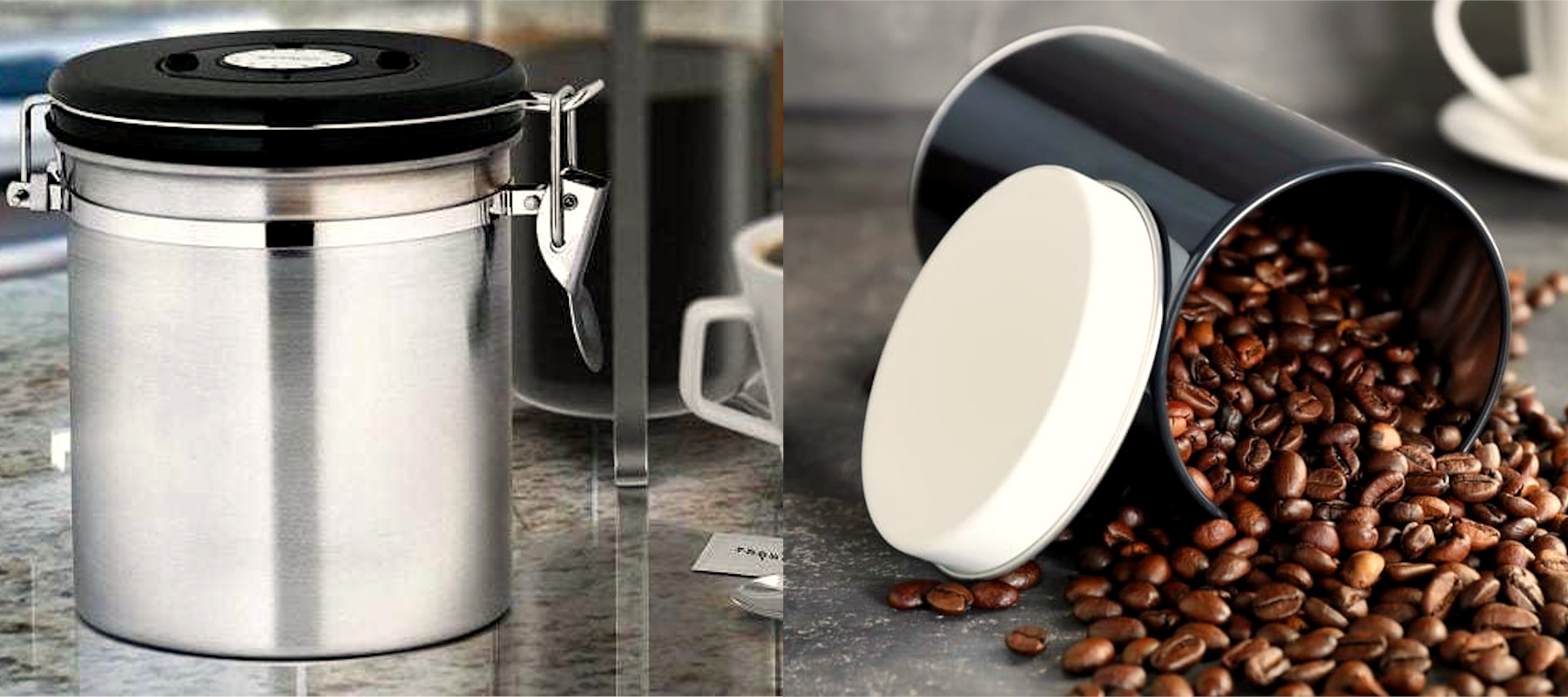 Top 5 Coffee Storage Containers   Super Stylish Canisters